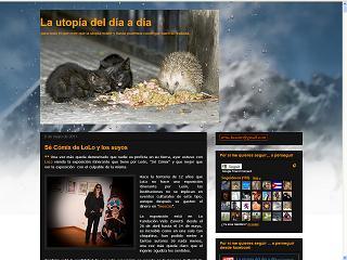 Captura de la portada de La utopía del día a día, por Irma Basarte
