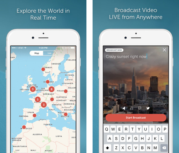 Explore the World in Real Time - Broadcast Video LIVE from Anywhere