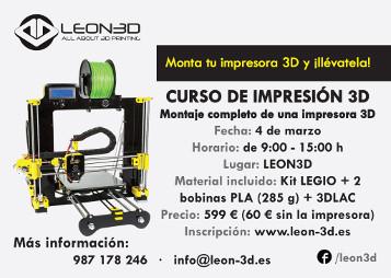 Curso de Impresión 3D por León3D