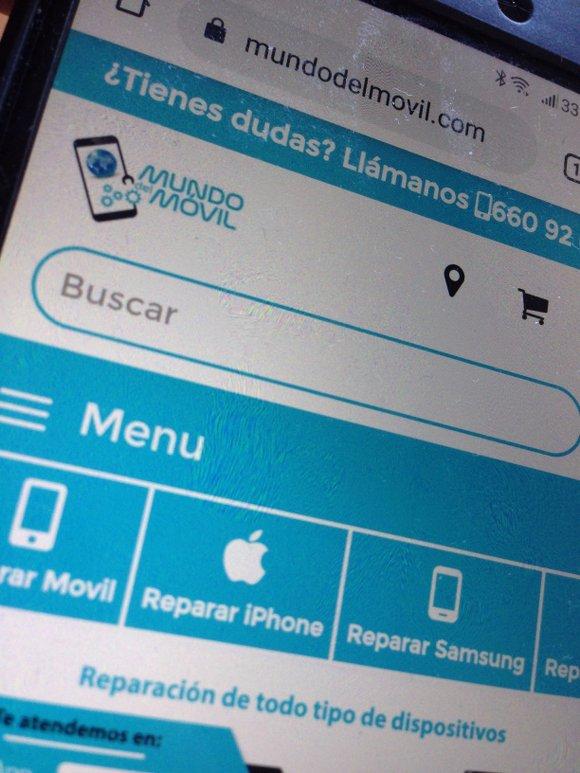Reparar Samsung, reparar iPhone, Mundo del Móvil - Reparación de todo tipo de dispositivos