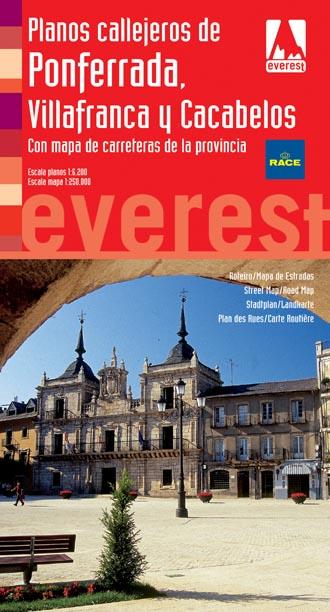 Plano callejero de Ponferrada, Villfranca y Cacabelos Ed. 2011