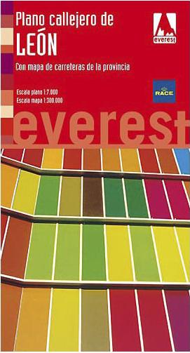 Plano callejero de León Ed. 2009